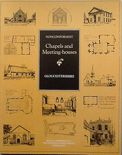 9780113000081: Inventory of Nonconformist Chapels and Meeting Houses in Central England: Gloucestershire