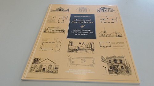 9780113000098: Inventory of Nonconformist Chapels and Meeting Houses in Central England: Leicestershire, Nottinghamshire and Rutland