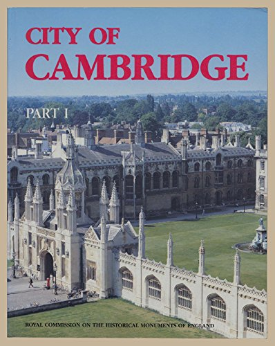 9780113000234: Inventory of the Historical Monuments in the City of Cambridge
