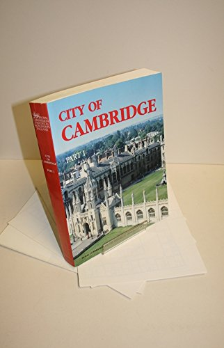 An Inventory of the Historical Monuments in the City of Cambridge, Part I and Part II, 2 Volumes