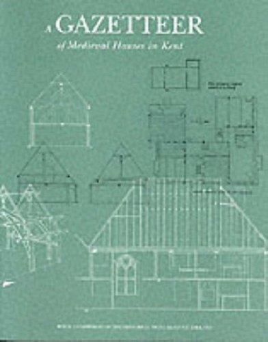 9780113000494: A Gazetteer of Medieval Houses in Kent