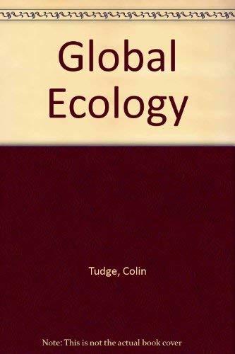9780113100385: Global Ecology