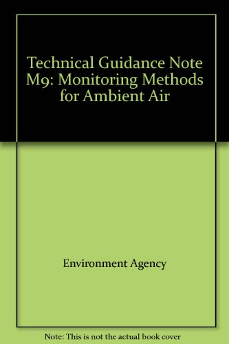 9780113101764: Technical Guidance Note M9: Monitoring Methods for Ambient Air