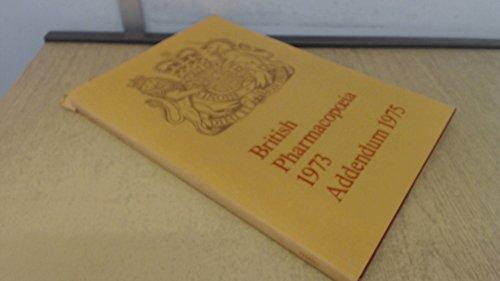 9780113206087: British Pharmacopoeia: 1975 Addendum
