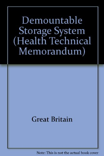 9780113212613: Demountable Storage System (Health Technical Memorandum)
