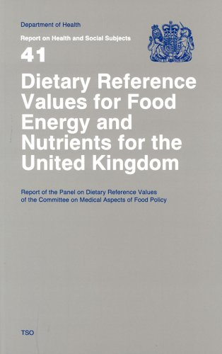 9780113213979: Dietary Reference Values of Food Energy and Nutrients for the United Kingdom: Report of the Panel on Dietary Reference Values of the Committee on ... (Reports of Health and Social Subjects)