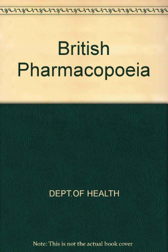9780113214563: British Pharmacopoeia 1988