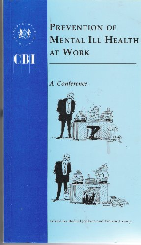 9780113215164: Prevention of Mental Ill Health at Work