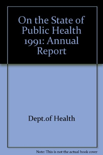 9780113215348: On the State of the Public Health (Ann), 1991