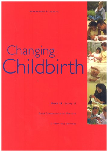 9780113216239: Changing Childbirth: Report of the Expert Maternity Group Pt.1