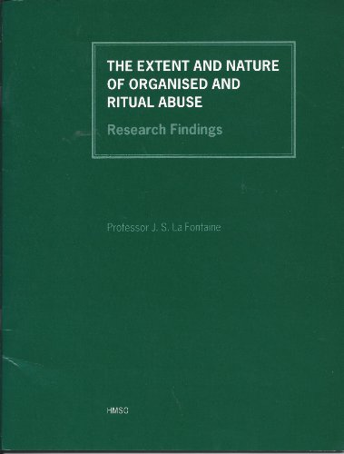 9780113217977: The Extent and Nature of Organised and Ritual Abuse: Research Findings