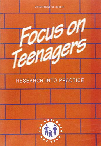 9780113219759: Focus on Teenagers: Research Into Practice