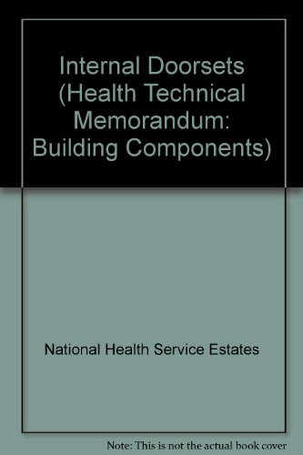 9780113220113: Internal Doorsets (Health Technical Memorandum: Building Components)
