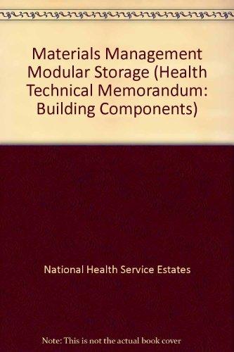 9780113220243: Materials Management Modular Storage (Health Technical Memorandum: Building Components)
