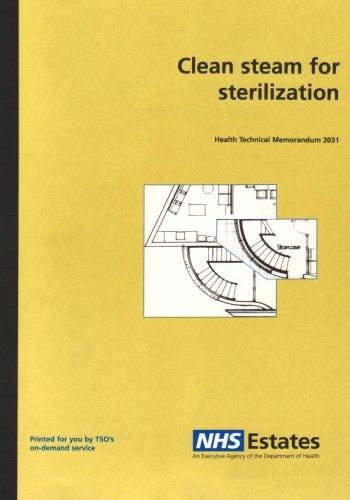9780113220335: Clean Steam for Sterilization (Health Technical Memorandum)