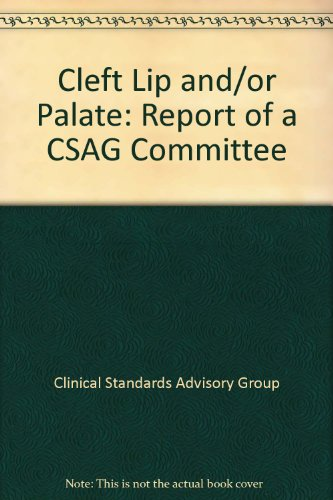 9780113221035: Cleft Lip and/or Palate: Report of a CSAG Committee