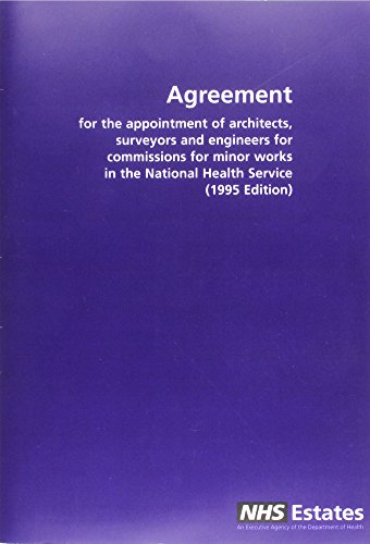 9780113222322: Agreement Appointment of Architects, Surveyors