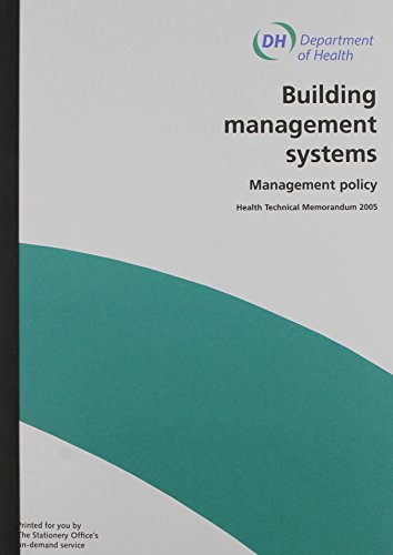 9780113222391: Building Management Systems: Management Policy (Health Technical Memorandum)