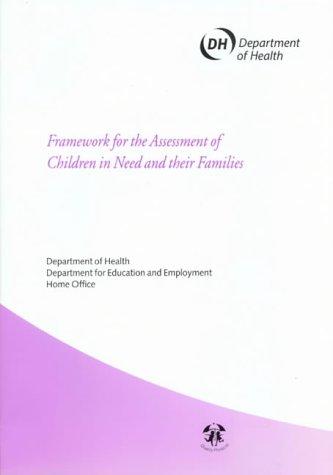 9780113223107: Framework for the Assessment of Children in Need and Their Families (Framework for the assessment of children in need & their families)