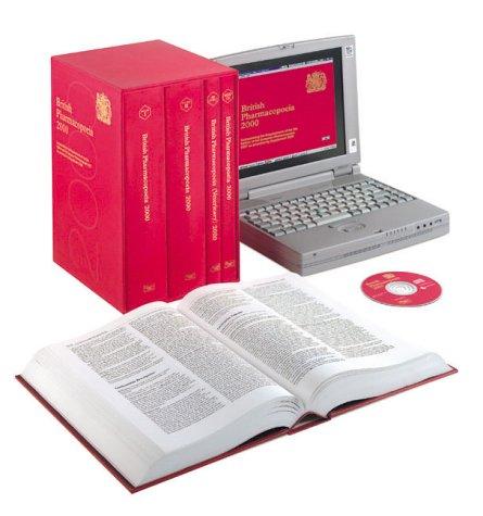 9780113223206: British Pharmacopoeia (2000 ed.) (4 Volume Slipcase Set)