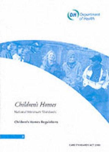 9780113224166: Children's Homes: National Minimum Standards, Children's Homes Regulations