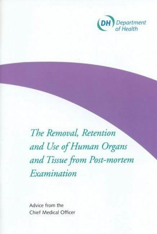 9780113225323: The Removal, Retention and Use of Human Organs and Tissue from Post-Mortem Examination (Department of Health)