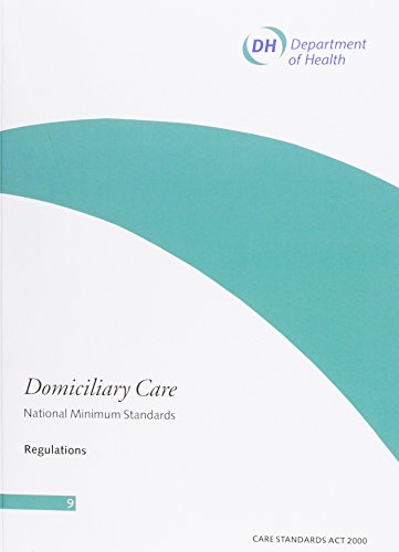 9780113225453: Domiciliary Care: National Minimum Standards - Regulations