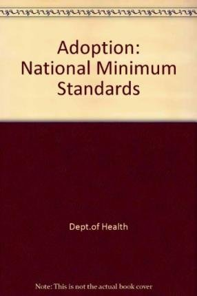 9780113225484: Adoption: National Minimum Standards