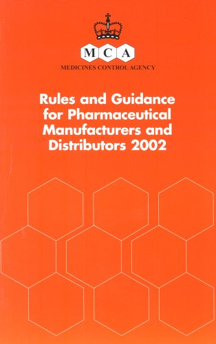 9780113225590: Rules and Guidance for Pharmaceutical Manufacturers and Distributors: The Orange Guide
