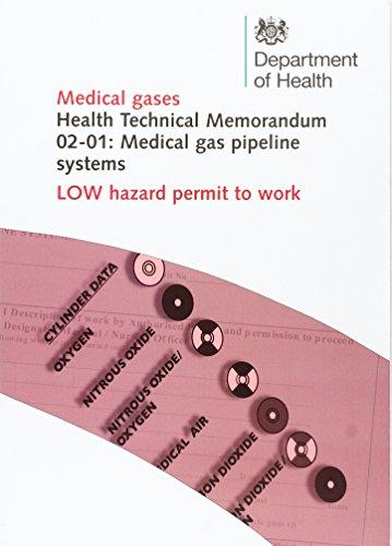 9780113227389: Medical Gas Pipeline Systems: Low Hazard Permit to Work (Health Technical Memorandum)