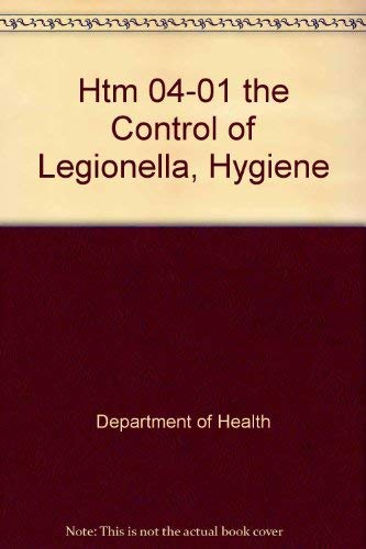 9780113227440: Htm 04-01 the Control of Legionella, Hygiene