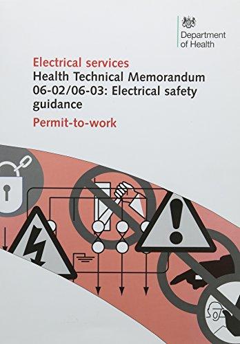 9780113227723: Electrical safety guidance: Permit-to-work (Health technical memorandum)