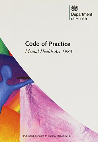 9780113228096: Code of practice: Mental Health Act 1983 (2008 Revised)