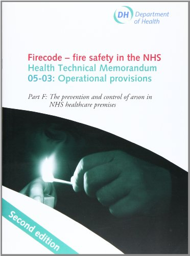 9780113228218: Firecode - fire safety in the NHS: operational provisions, Part F: Arson prevention in NHS premises: Health Technical Memorandum HTM 05-03