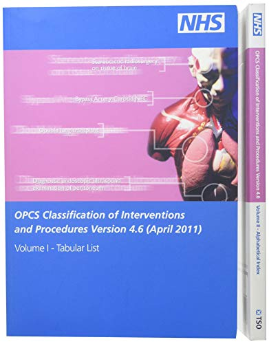 9780113228324: OPCS Classification of Interventions and Procedures Version 4.5 (April 2009): Tabular List v. 1