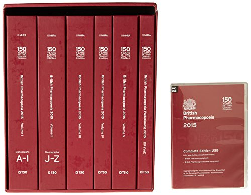 9780113229871: British pharmacopoeia 2015 [complete edition - print + USB + online access]