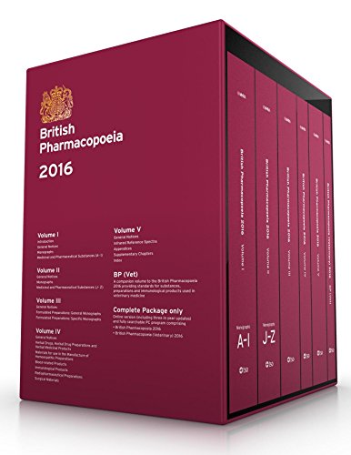 9780113230006: British pharmacopoeia 2016 [complete edition - print + download + online access]