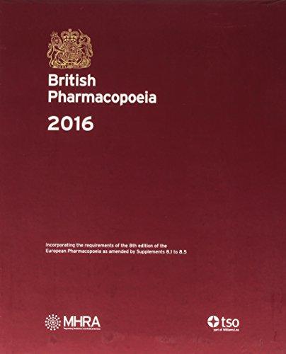 9780113230082: British pharmacopoeia 2016 [print edition]