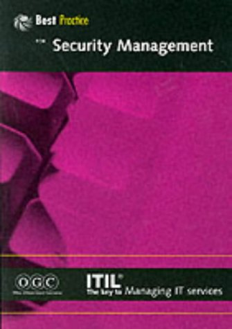 9780113300143: Security Management (It Infrastructure Library Series) (Part 14)