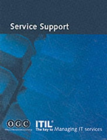 Itil Service Support: Office of Government Commerce