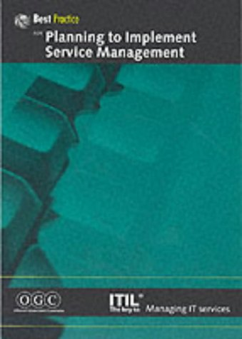 9780113308774: Planning to Implement Service Management (IT Infrastructure Library)