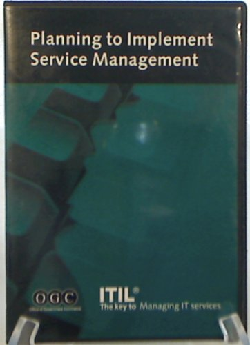 9780113309054: Itil Planning to Implement Service Management (IT Infrastructure Library)