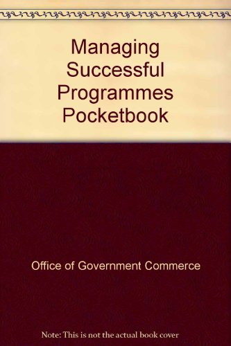 9780113310265: Managing Successful Programmes Pocketbook