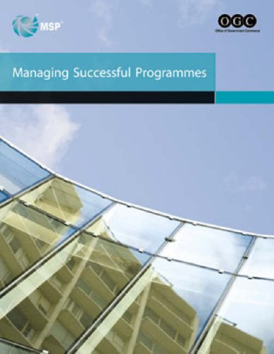 9780113310401: Managing successful programmes (Office of Government Commerce)