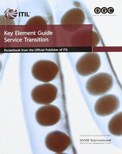 9780113310722: Key Element Guide Service Transition: The Official Pocketbook
