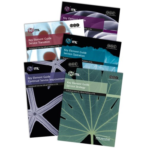 9780113310883: ITIL v3 Key Element Guide Suite - Pack of 5 (containing one of each of the Key Element Guides)
