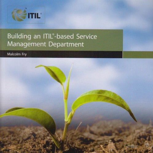 9780113310968: Building an ITIL based Service Management Department