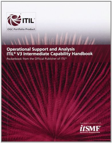 9780113312085: Operational support and analysis ITIL V3 intermediate capability handbook (Single Copy)