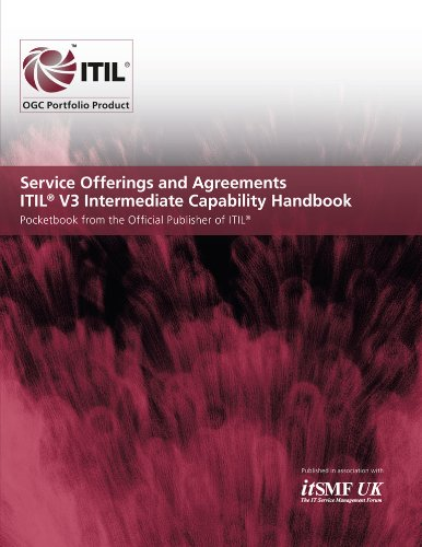 9780113312702: Service Offerings and Agreements, Itil V3 Intermediate Capability Handbook: Pocketbook from the Official Publisher of Itil
