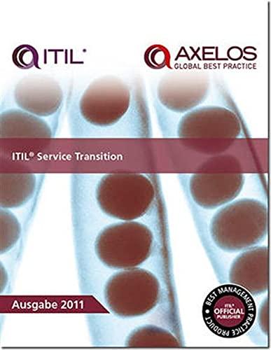 9780113313068: ITIL Service Transition 2011 Edition (Best Management Practices)